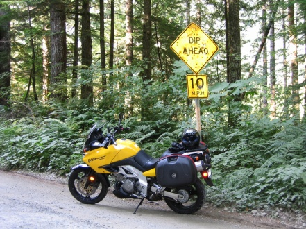 First dirt road outside of Seattle.