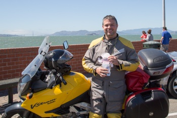 Flat Stanley rides Northern California