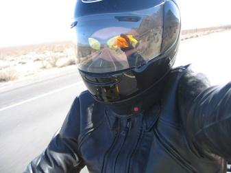 First moto selfie!